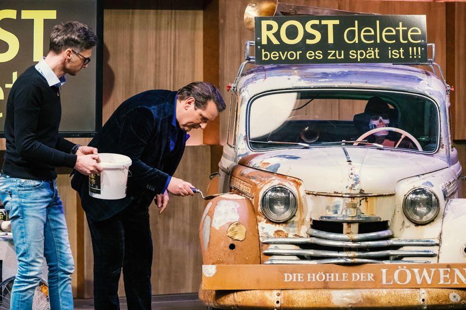 "Ralf Dümmel testet""ROSTdelete"""