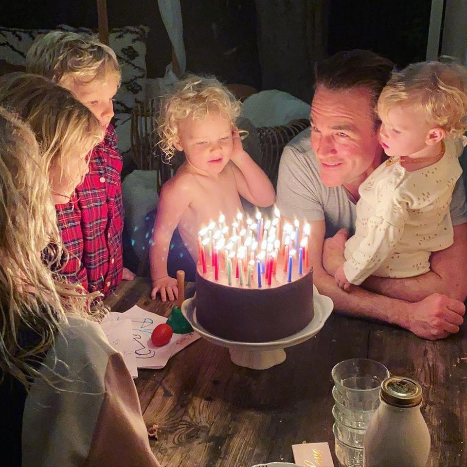James van der Beek feiert Geburtstag