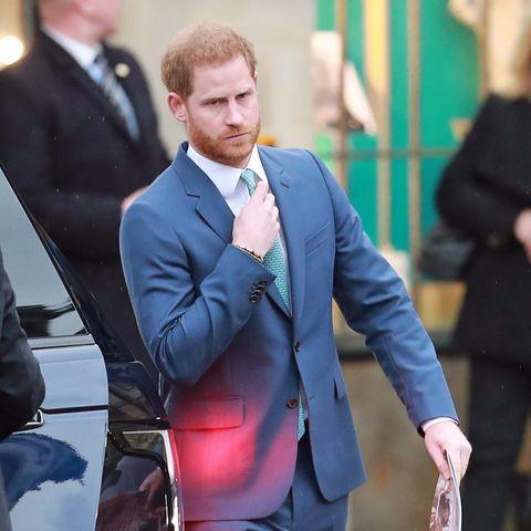 Prinz Harry verabschiedet sich als Senior-Royal.