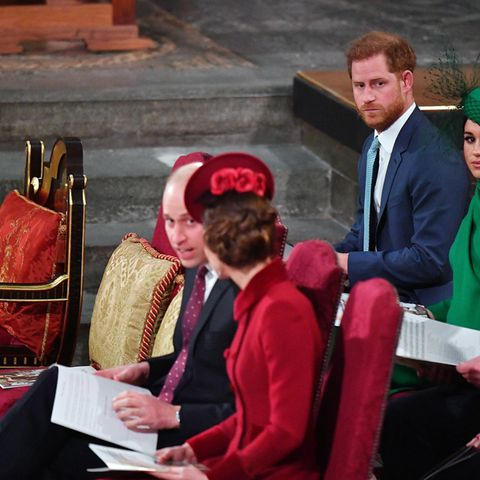 Prinz William und Herzogin Meghan am 9. März in der Westminster Abbey.