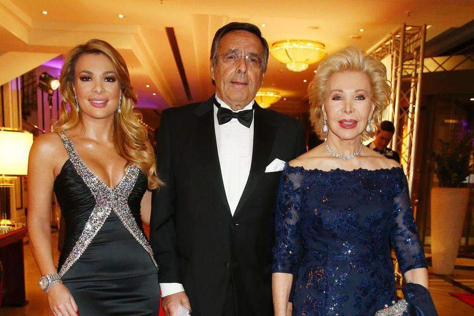 Chiara Ohoven mit ihren Eltern Mario Ohoven und Ute-Henriette Ohovenim Jahr 2018.
