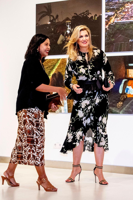 Königin Máxima besucht Indonesien