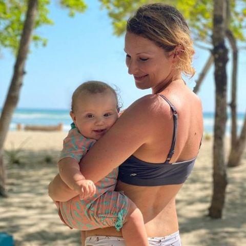 Janni Hönscheid und ihre Tochter Yoko