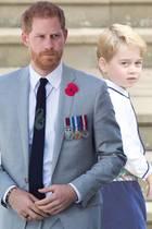 Prinz Harry scherzt über Prinz George.