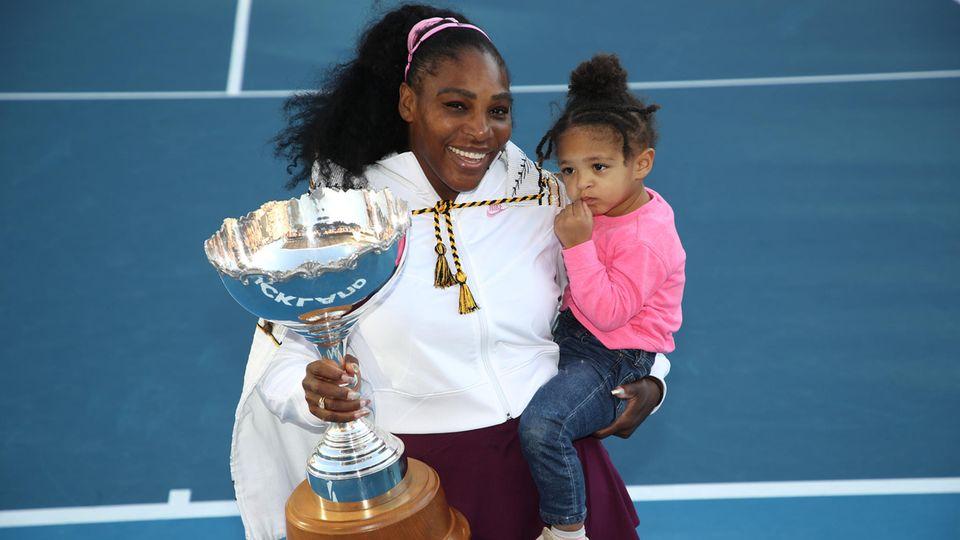 Serena Williams und Tochter