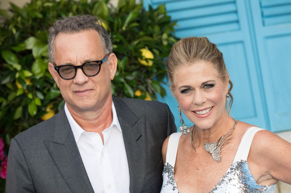 Tom Hanks + Rita Wilson