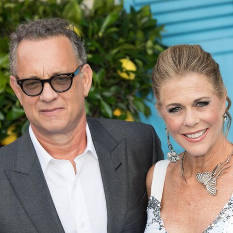 Tom Hanks + Rita Wilson