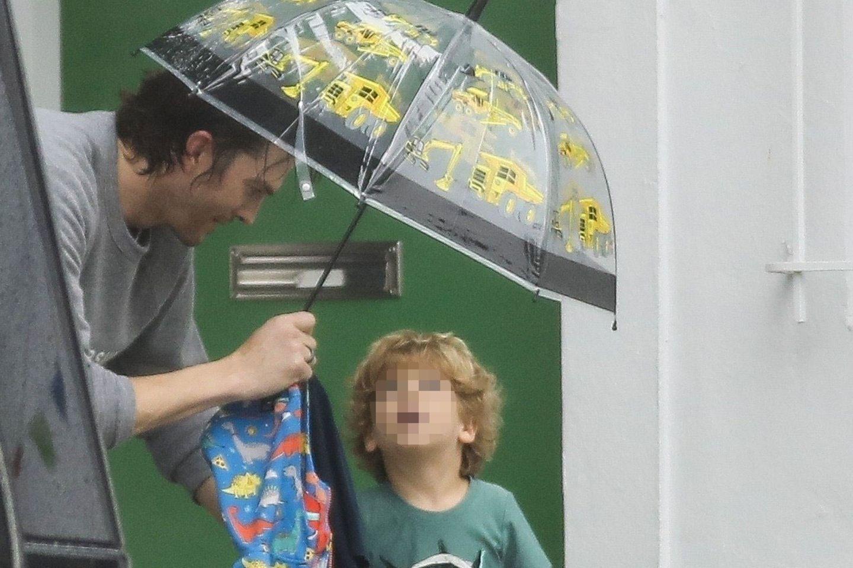 Ashton Kutcher und Sohn Dimitri Portwood Kutcher