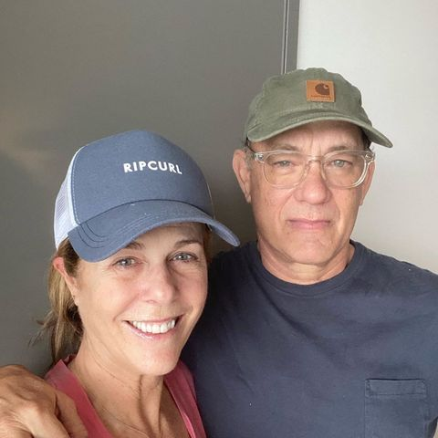 Rita Wilson und Tom Hanks