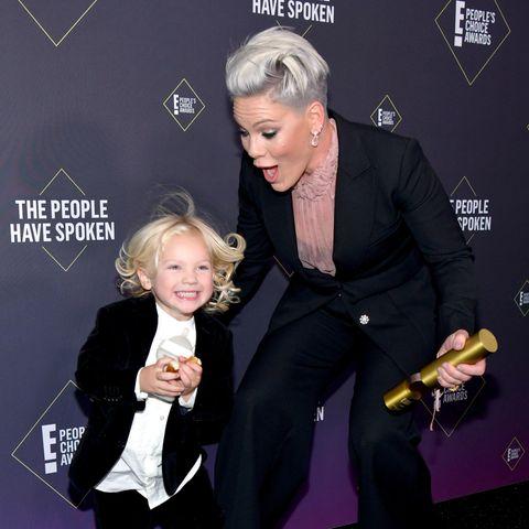 Jameson und Mama Pink