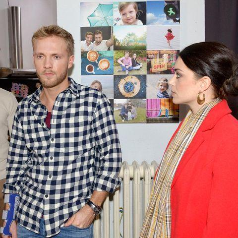 Philip (Jörn Schlönvoigt), Paul (Niklas Osterloh) und Emily (Anne Menden)