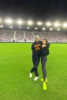 13. März 2020  Leere Ränge und lange Gesichter: David Beckham, Besitzer des Fußballclubs Inter Miami FC, und seine Frau Victoria lächeln zwar und kommentieren die leeren Rängen im Stadium mit Vernunft,die Enttäuschung dürfte trotzdem groß sein.