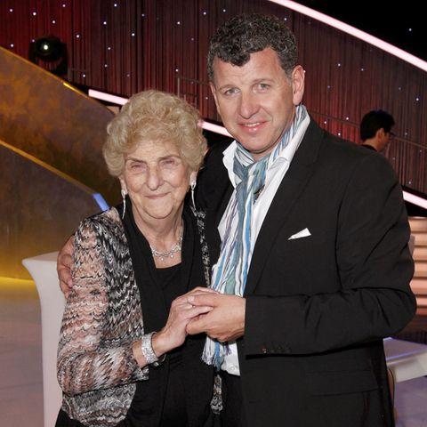 Semino Rossi mit seiner Mutter Esther.