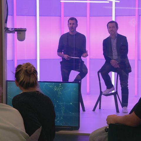 """""""Big Brother"""": Jochen Schropp und Dr. Andreas Kaniewski klären die Bewohner über die Corona-Pandemie auf"""