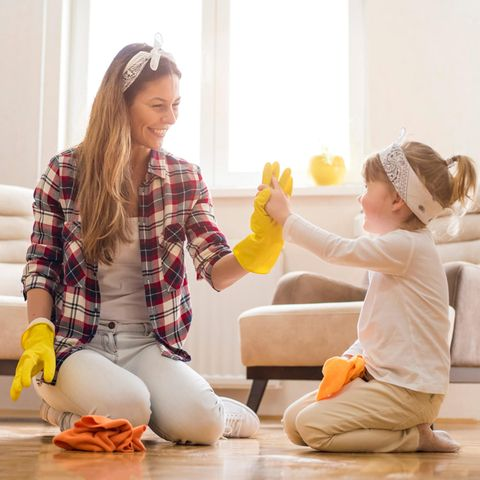 Frühjahrputz: Tipps, Tricks + Checkliste