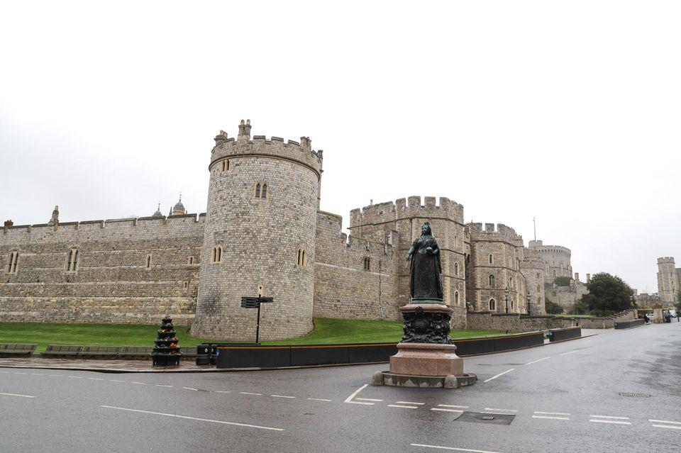 Schloss Windsor am 19. März 2020: Gähnende Leere statt Massentourismus.