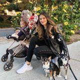 Hana Nitsche ist mittlerweile auch Mutter einer kleinen Tochter. Zusammen mit Aliya lebt siein Kalifornien - und das steht ihr blendend!