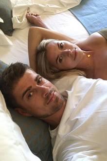 Dustin Schöne und Lena Gercke