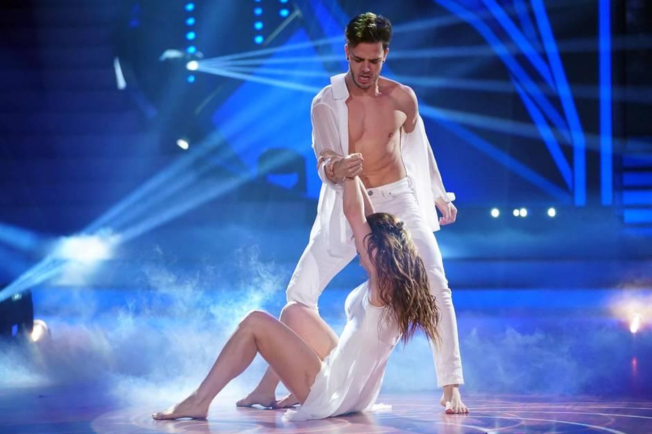 """Let's Dance""-Tanzpaar Luca Hänni und Christina Luft"