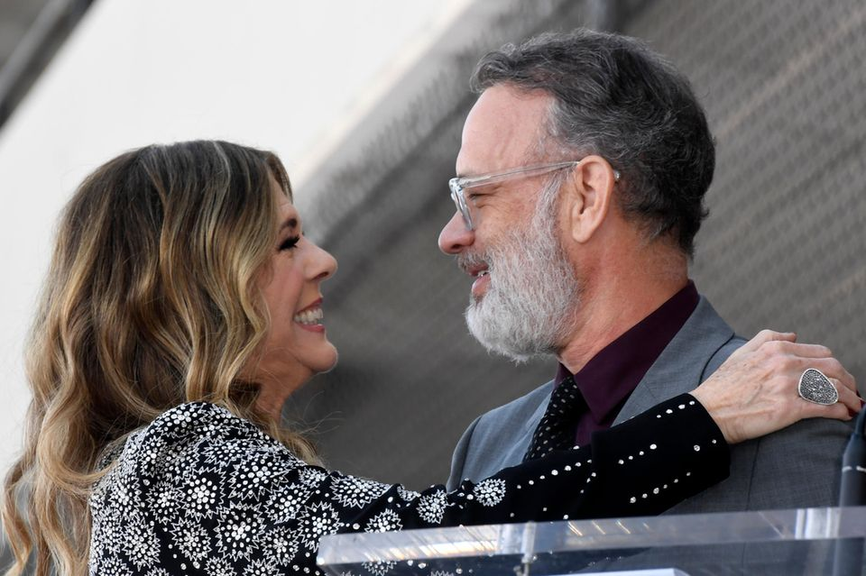 Rita Wilson, Tom Hanks