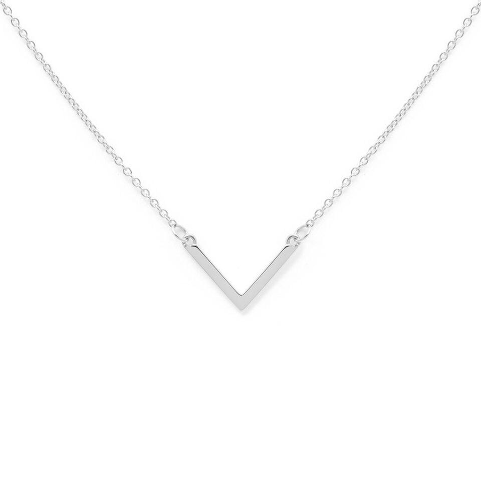 Kette Triangle silber von prettique
