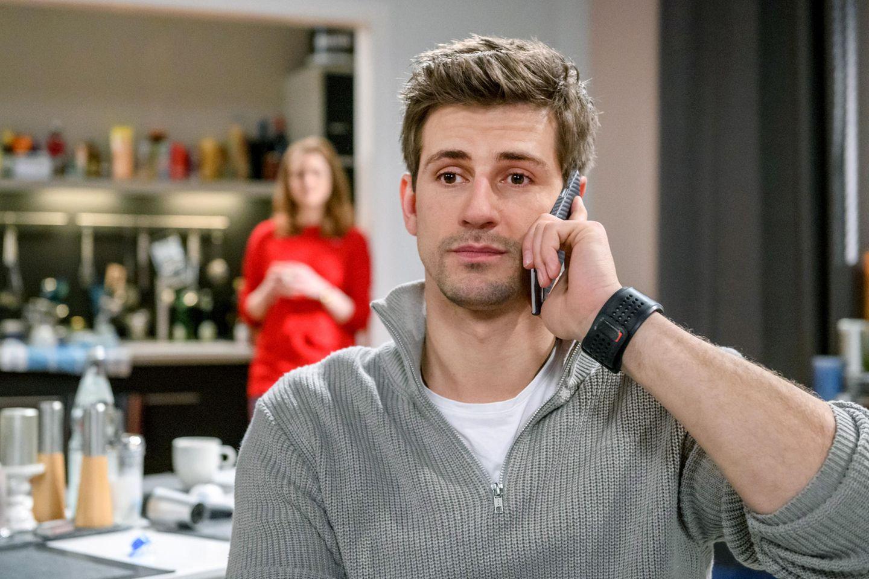 """""""Sturm der Liebe"""": Paul (Sandro Kirtzel) muss eine schwere Entscheidung treffen."""