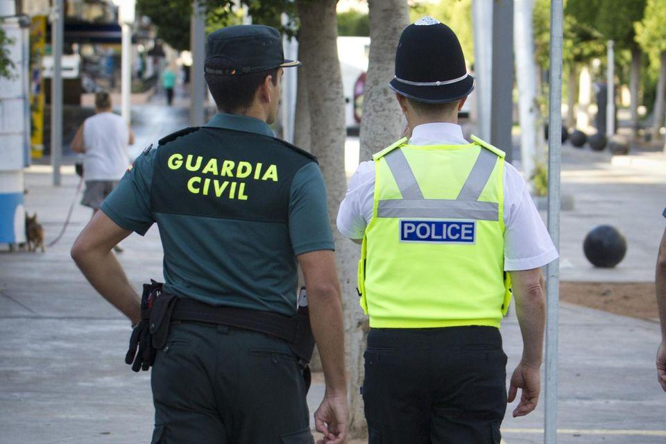 Polizei auf Mallorca.