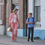 … Königin Mathilde von Belgien. Allen Frauen steht Power-Pink jedenfalls fantastisch!