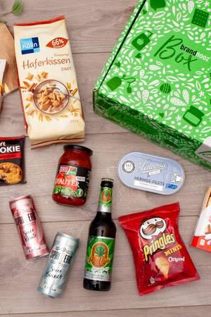 Produkte der brandnooz Classic Food-Box