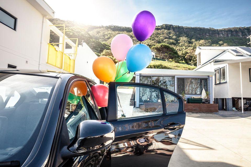 Seine Familie veranstaltete für einen 92-jährigen Amerikaner eine Geburtstagsparade. (Symbolbild)