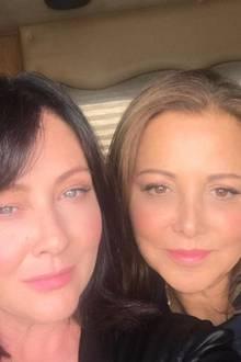 Shannen Doherty und ihre beste FreundinDeborah Waknin-Harwin (†)