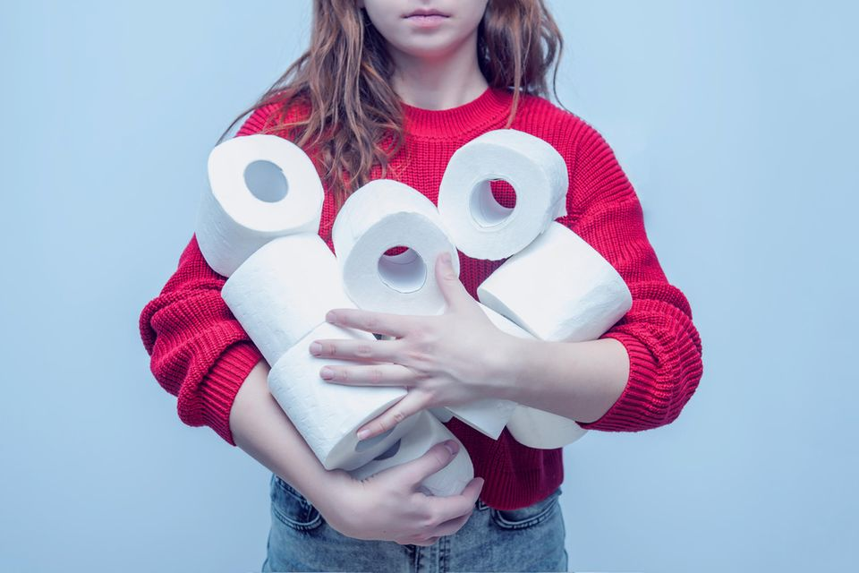 Toilettenpapier: Ein scheinbar wertvolles Gut in der Coronakrise. (Symbolbild)