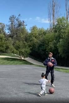 Travis Scott und Tochter Stormi