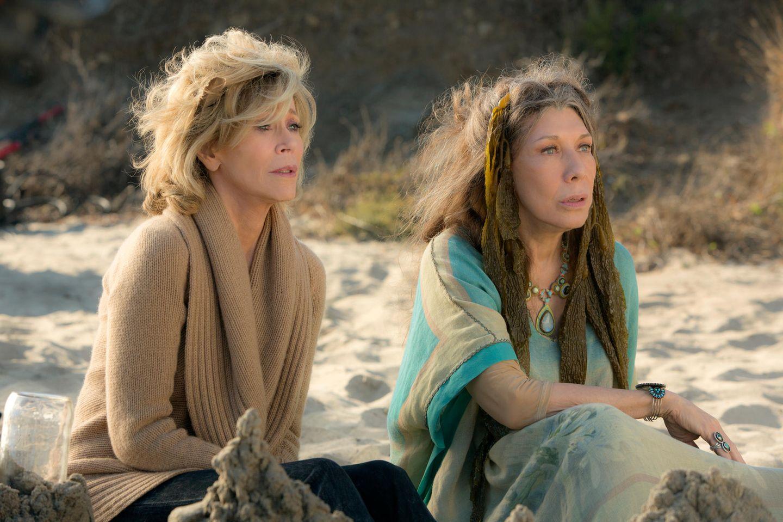Grace (Jane Fonda) und Frankie (Lily Tomlin)