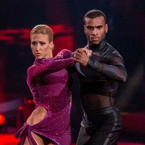 """Let's Dance""-Tanzpaar: Kathrin Menzinger und Tijan Njie"