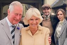Prinz Charles, Herzogin Camilla, David Beckham und Victoria Beckham