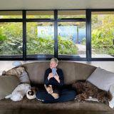 Für Ellen Degeneres und Portia DeRossi sind ihre Haustiere die beste Begleitung durch die Coronakrise.