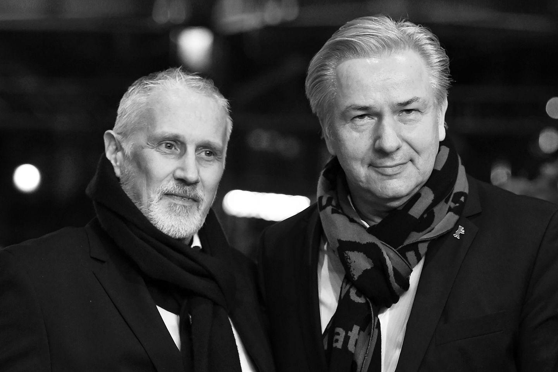 Jörn Kubicki (†) und Klaus Wowereit