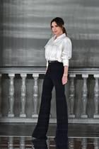 Victoria Beckham bei ihrer Modenschau MitteFebruar in London