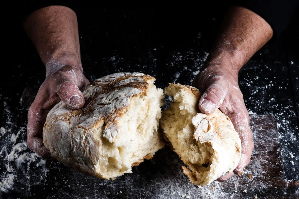 Jamie Olivers einfaches Brot-Rezept