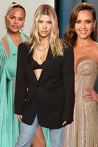 Chrissy Teigen, Sofia Richie und Jessica Alba
