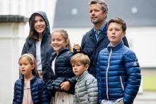Mary, Frederik und Kinder