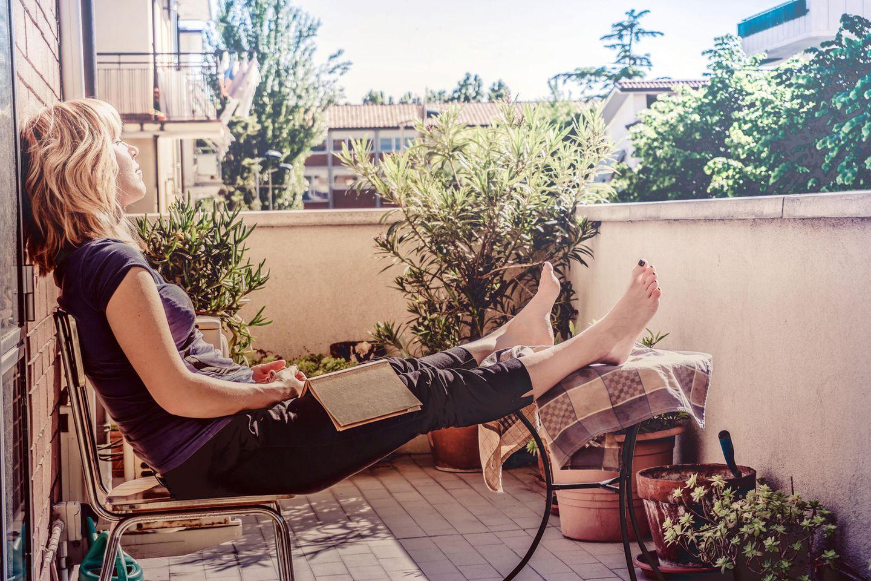 Aktuell heißt es: Sommer auf Balkonien. (Symbolbild)