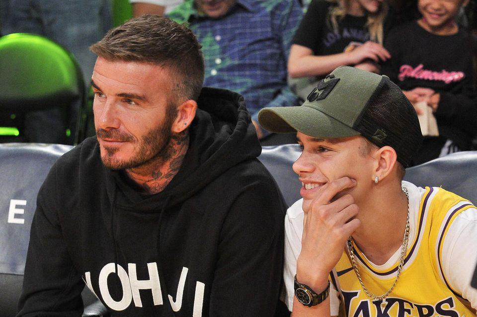 David + Romeo Beckham