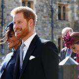 12. Oktober 2018  Heute stehen weder Kate noch Meghan im Mittelpunkt, sondern eine andere royale Dame: Prinzessin Eugenie heiratet auf Schloss Windsor Jack Brooksbank. Die Gäste sind bester Laune.