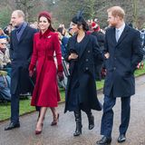 """25. Dezember 2018  Dieses harmonische Foto der Herzoginnen mit ihren Männern hat der Palast dringend nötig: Seitdem er Ende November den Umzug von Harry und Meghan nach Frogmore Cottage in Windsor bestätigt hat, überschlagen sich die Negativ-Schlagzeilen. Im Fokus: Meghan.  Sie sei eine Diva, die wie ein """"Hurrikan""""durch das höfische Protokoll fege und die konservative, formale Arbeitsweise der Royal Family durcheinanderbringe, heißt es. Auch als """"Social Climber"""", als """"sozialer Emporkömmling"""" wird sie beschimpft. Der Vorwurf: Es sei vor allem Harrys Status als Royal, in den sich dieambitionierteMeghan verliebt habe."""
