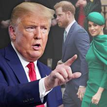 Donald Trump, Prinz Harry, Herzogin Meghan