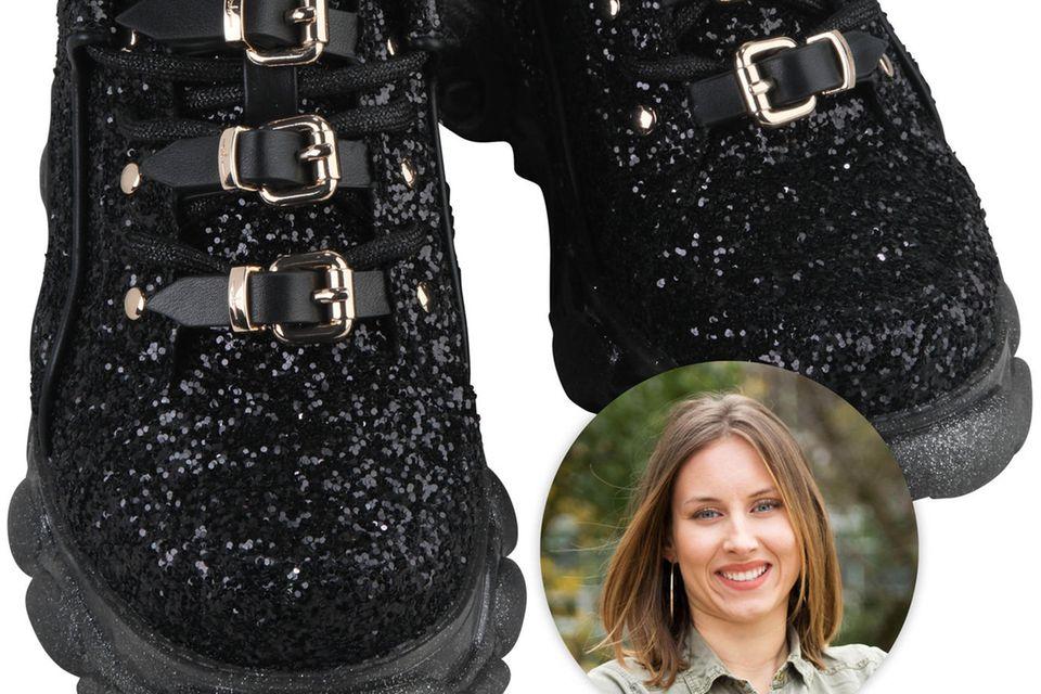 Auffallen? Mit den Schuhen von Buffalo x Marina Hoermanseder auf jeden Fall (ab 17.4. auf buffalo.com).