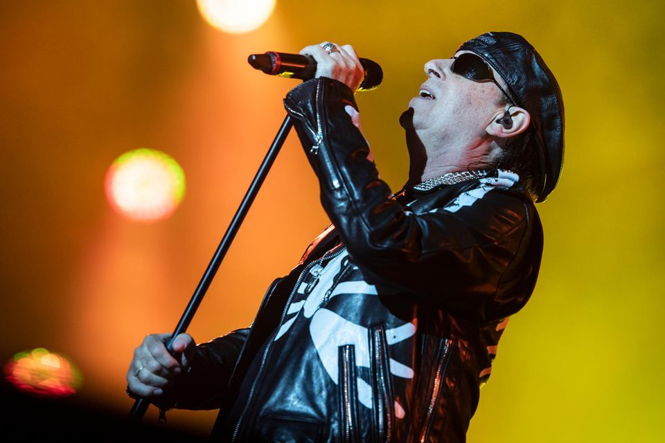 Scorpions Sänger Klaus Meine