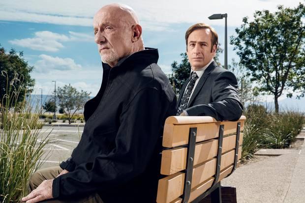 Mike Ehrmantraut (Jonathan Banks) und Jimmy McGill (Bob Odenkirk)
